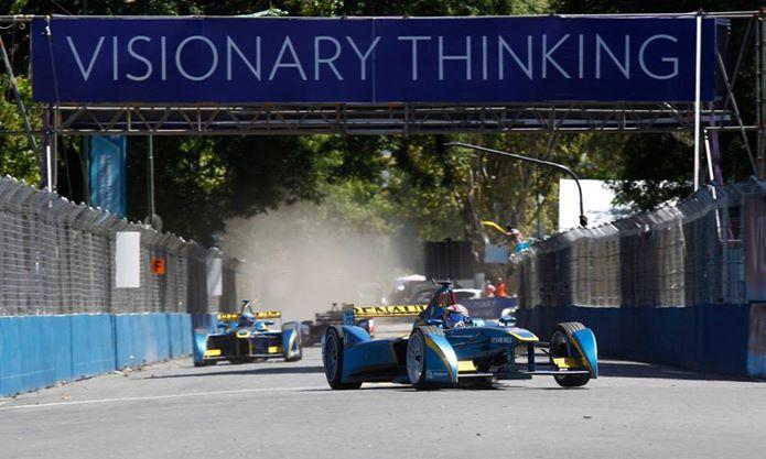 Da Costa slavil na nori dirki Formule E