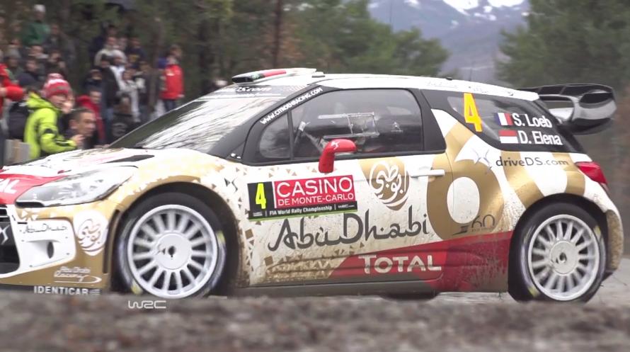 Loeb ob vrnitvi v WRC pometel s konkurenco!