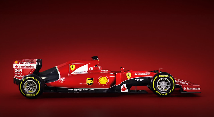 Predstavitev: Ferrari SF15-T