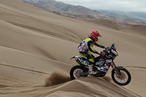 Dakar 2015, 9. etapa: Stanovnik po tehničnih težavah do 30. mesta