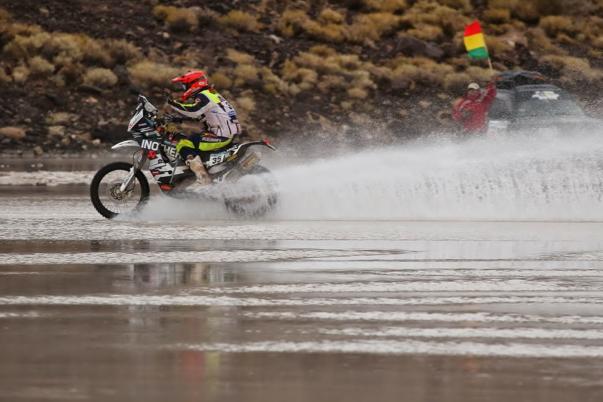 Dakar 2015, 8. etapa: V katastrofalnih razmerah Stanovnik do 22. mesta, Coma prevzel vodstvo
