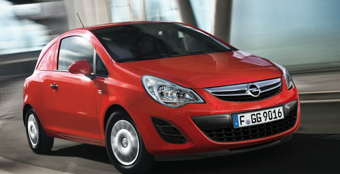Opel Corsavan se predstavi