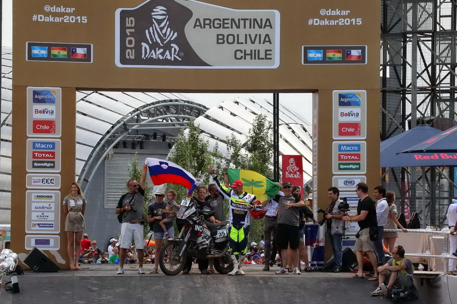 Stanovnik svoj 18. Dakar zaključil na 28. mestu, Coma petič najhitrejši motorist