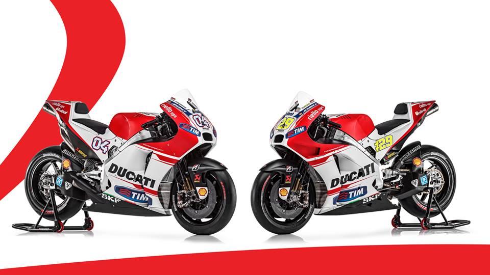 Ducati predstavil letošnji motor Desmosedici GP15