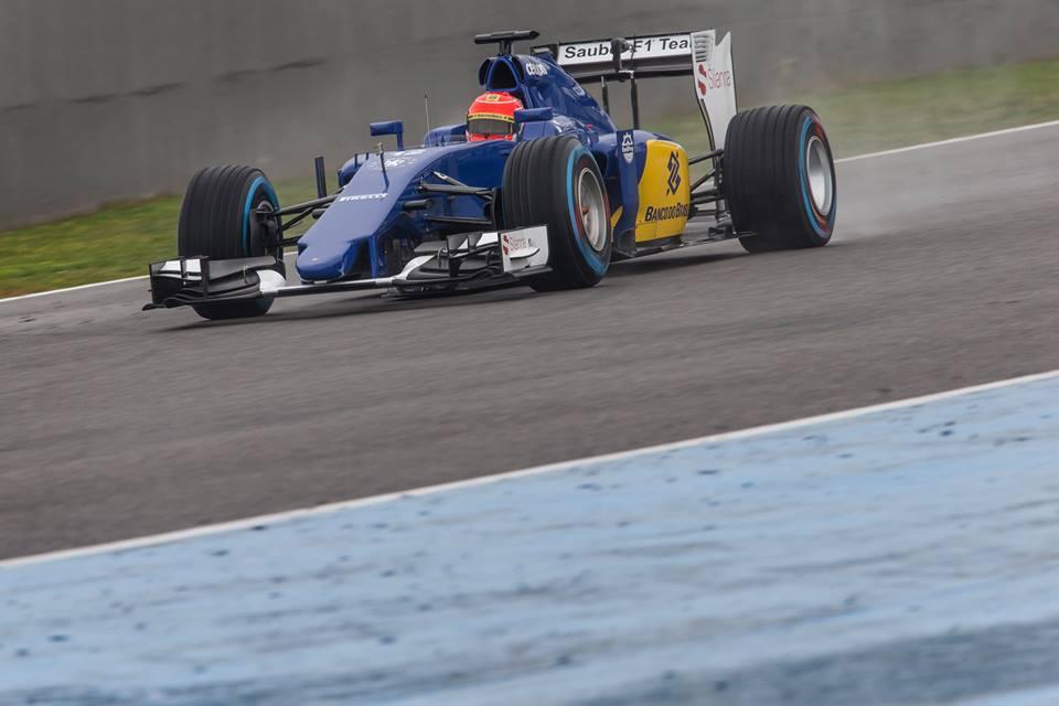 Sauber bo testiral v Barceloni