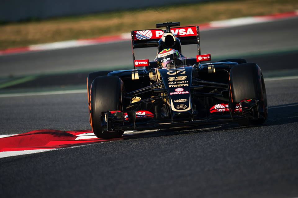 Maldonado najhitrejši na začetku testiranj v Barceloni