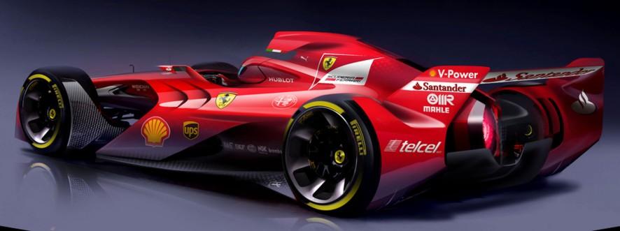 Ferrarijev dirkalnik prihodnosti.