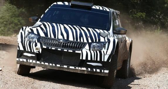 Škoda testira Fabio R5