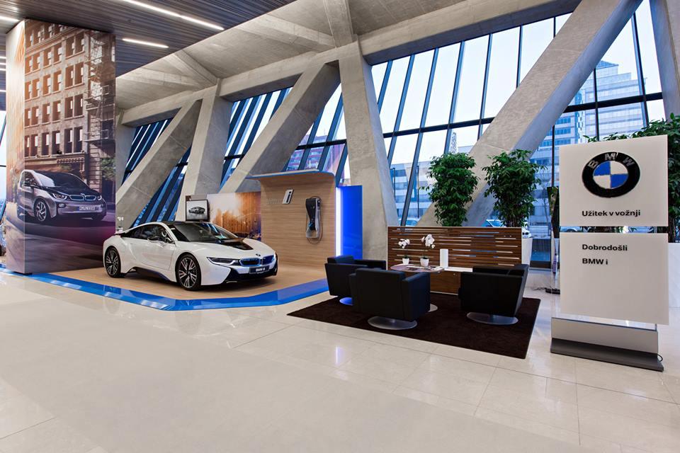 BMW i začenja dobo električne mobilnosti v Sloveniji