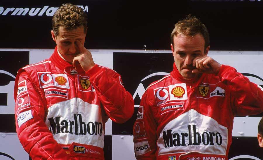 Barrichello: Šumi si je zaslužil le 6 naslovov
