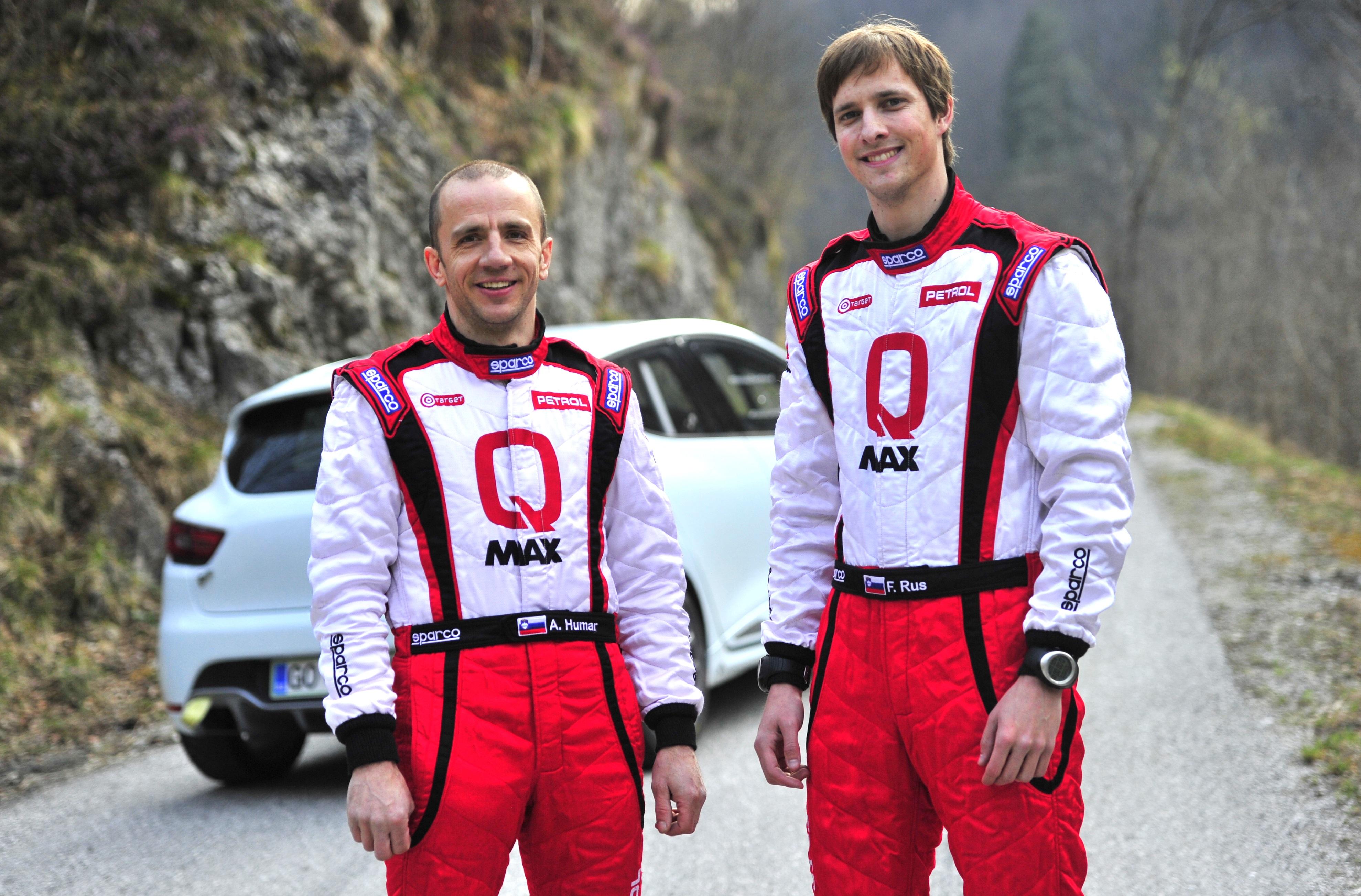 Državni prvak Humar prvič preizkusil novi dirkalnik