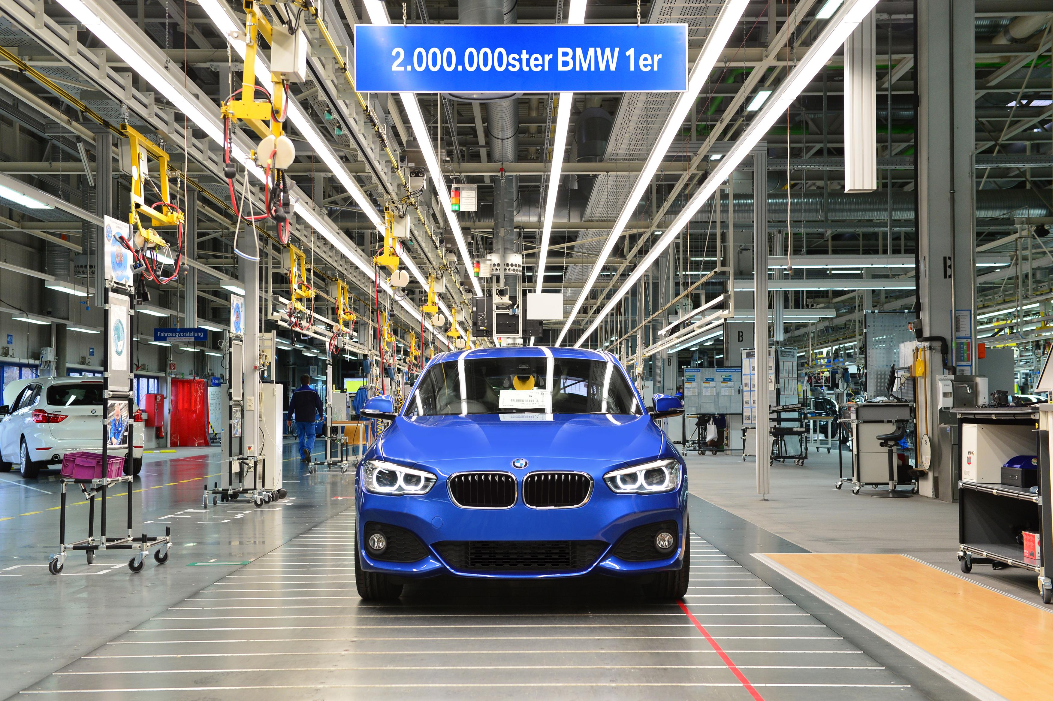BMW izdelal rekordno število avtomobilov