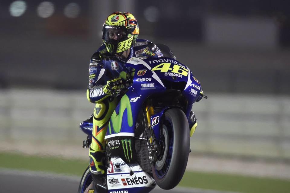 Rossi preprečil slavje Ducatija