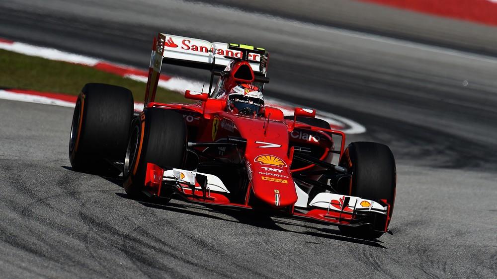Vroč asfalt v Manami kot po naročilu Ferrarija
