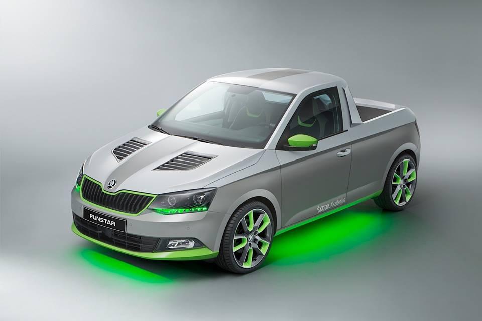Škoda Fabia Pickup koncept