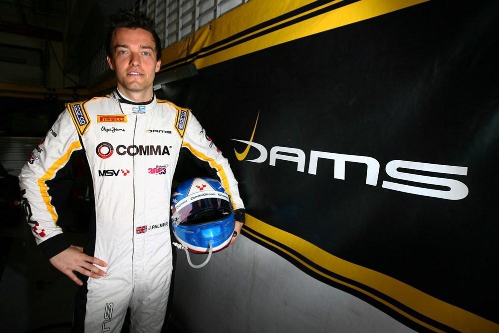 Palmer bo vozil na prvem treningu v Barceloni