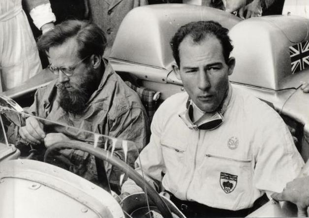 Na današnji dan: Moss in Jenkinson na Mille Miglia s številko 722