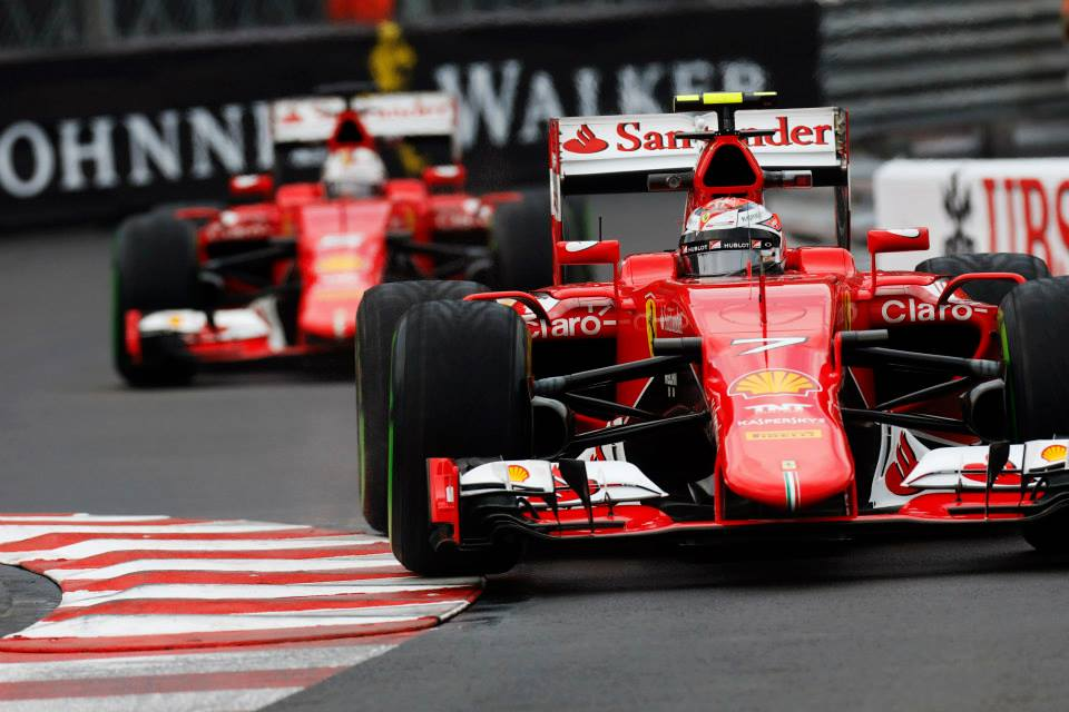 Ferrari: Raikkonen enako hiter kot Vettel
