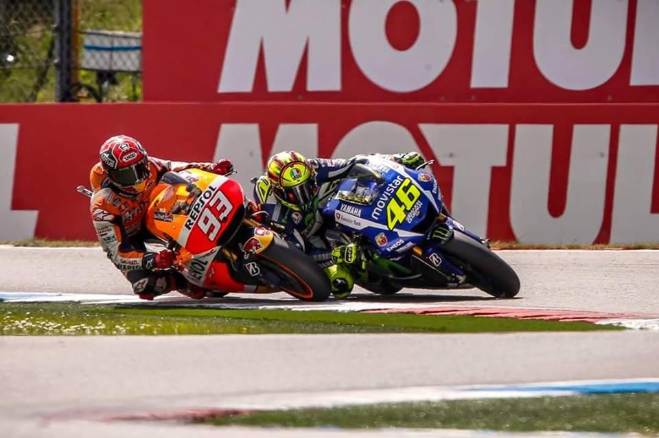 Rossiju zmaga po napetem dvoboju z Marquezom