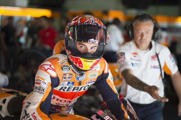 Bo Marquez nastopil z lanskim motorjem?