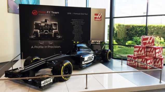 Haas F1 že predstavil svoj dirkalnik