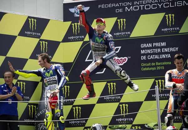 Lorenzo je prvak 2015!