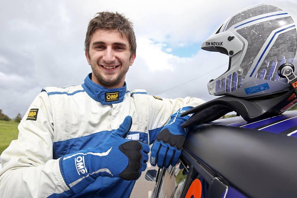 Novak v Novi Gorici z novim dirkalnikom