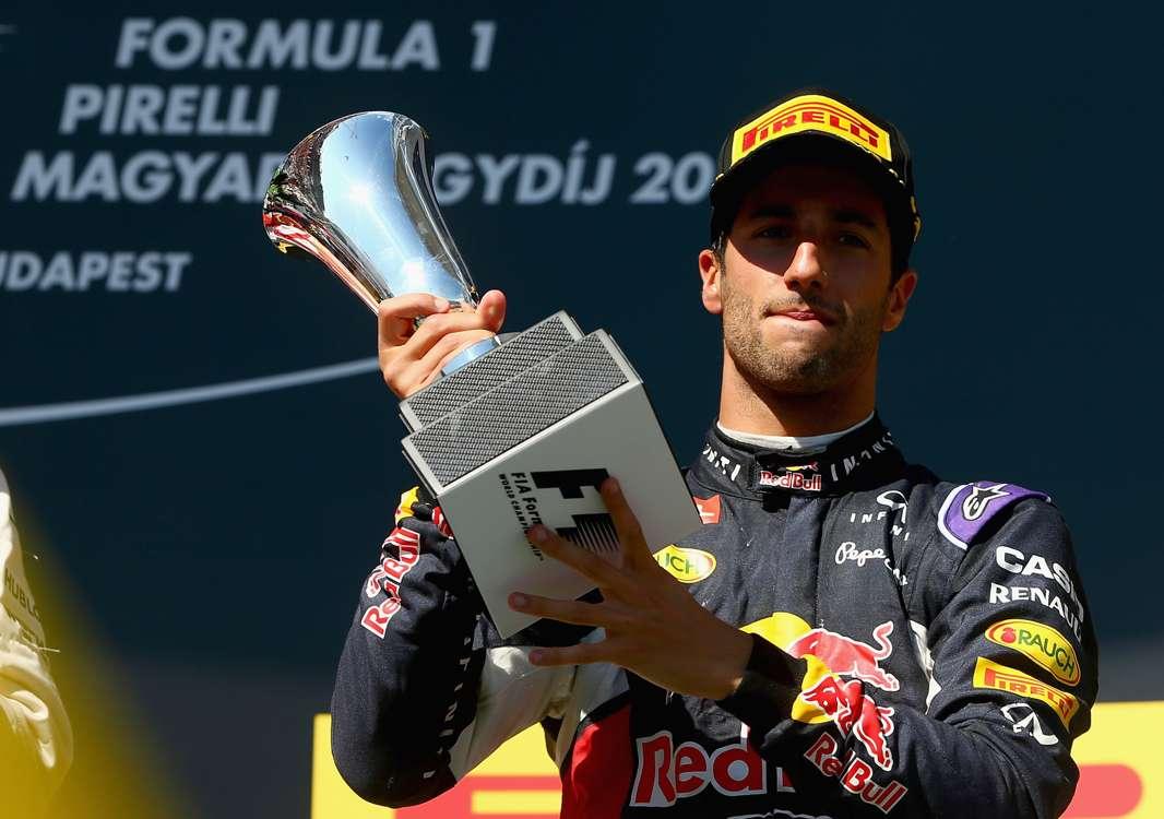 Ricciardo verjame, da je bila zmaga na dosegu roke