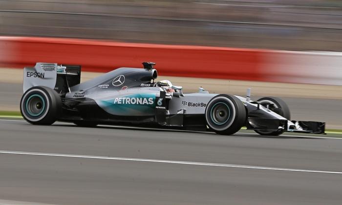 Tretji trening v Silverstonu dobil Hamilton