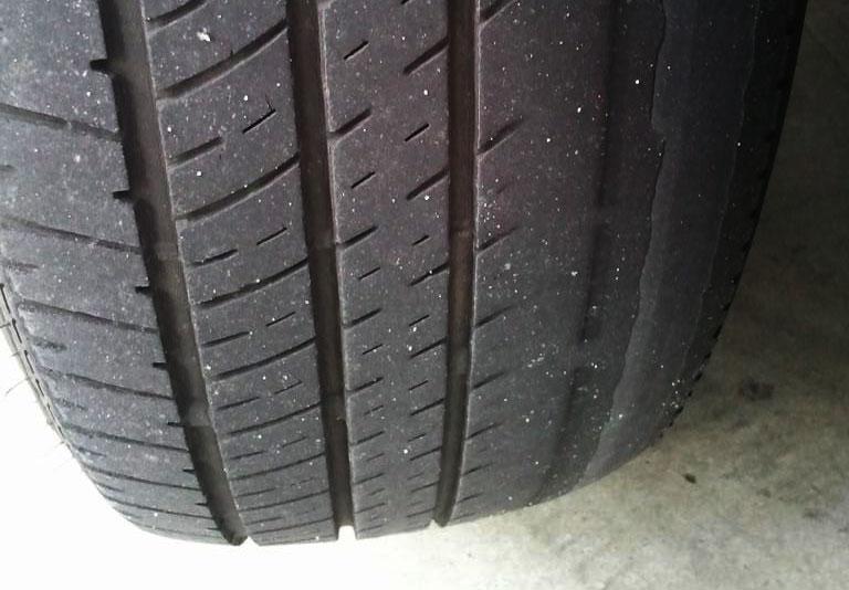 obrabljena pnevmatika