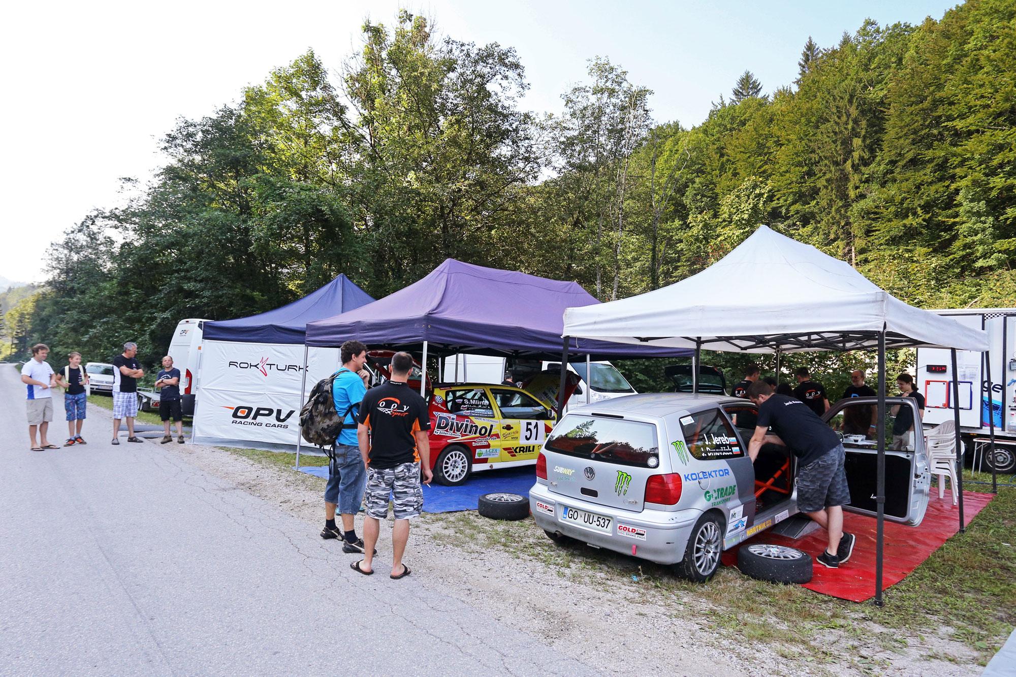 Uspešen nastop za ekipo OPV Šport na domači dirki v Lučinah