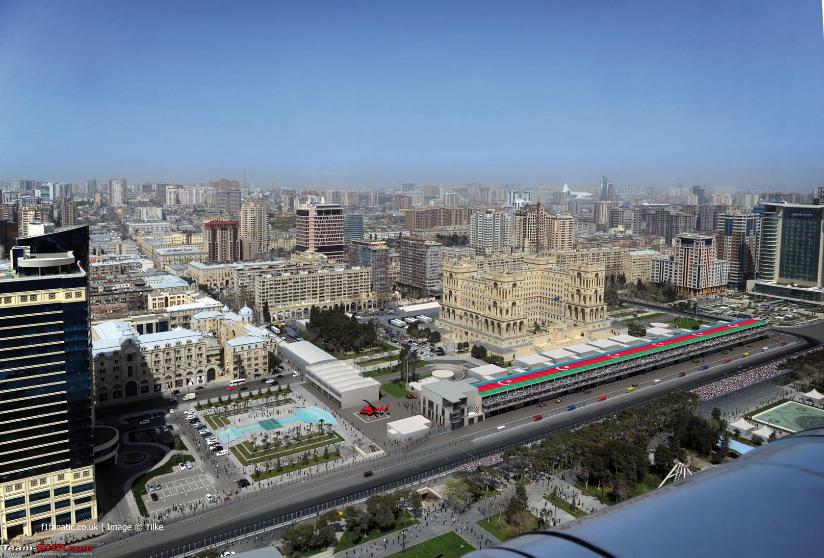 Baku kot najhitrejše ulično dirkališče