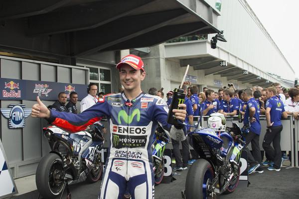 Lorenzo s prvega mesta, Rossi padel