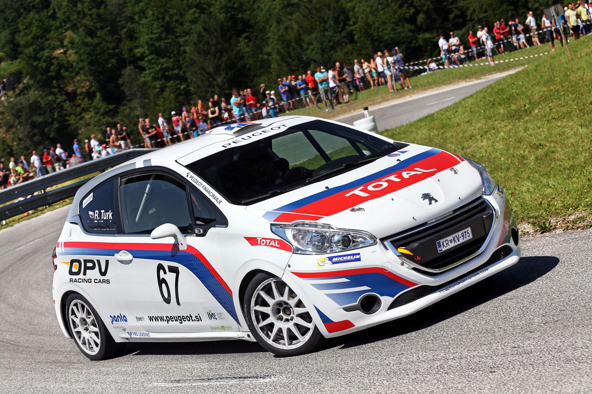 Rok Turk odličen tudi na gorsko hitrostni dirki
