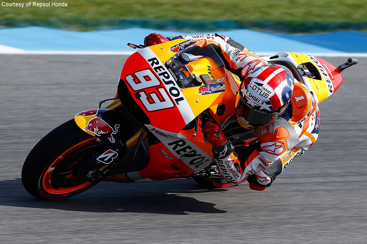 Marquez zagotovil zmago v zadnjih krogih