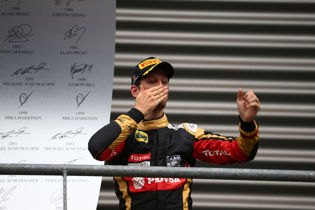 Maldonado sam kriv za ostop, Grosjean odpeljal odlično