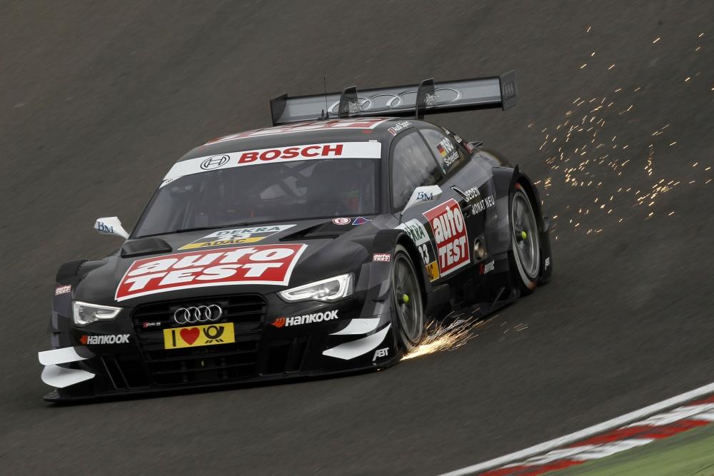 Audiju visoka kazen  na DTM dirki v Spielbergu