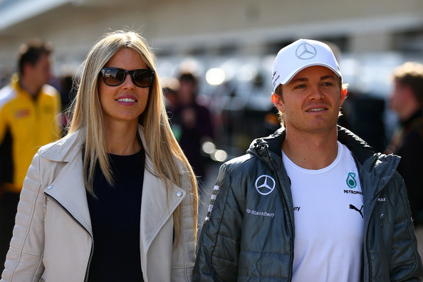 Vesela zakonca Rosberg