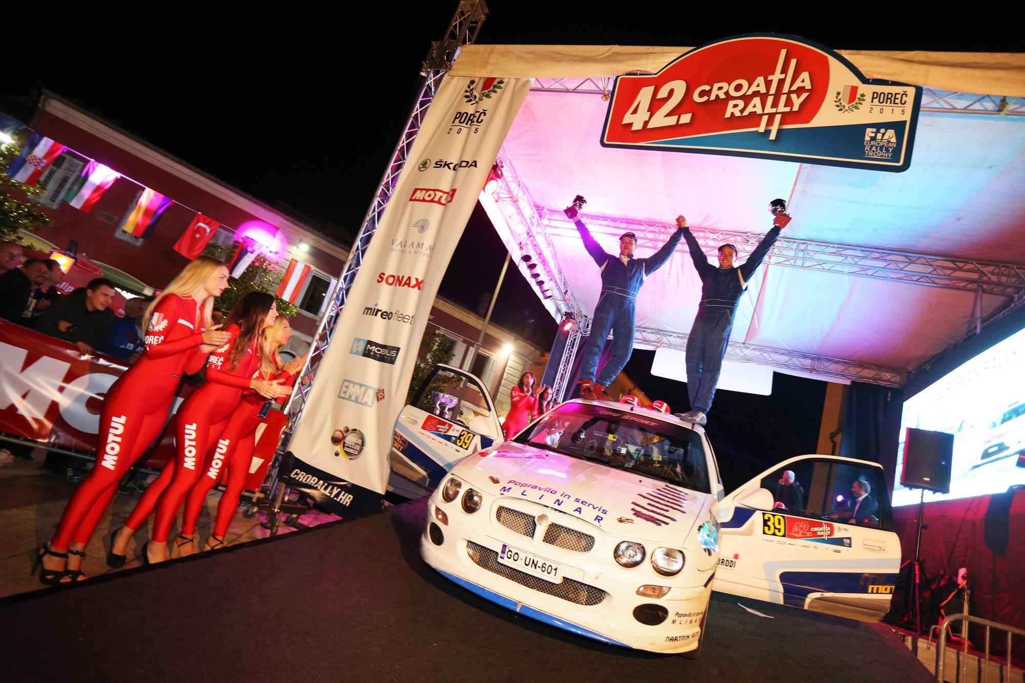 Opv Šport na Croatia rallyju do naslova državnih prvakov