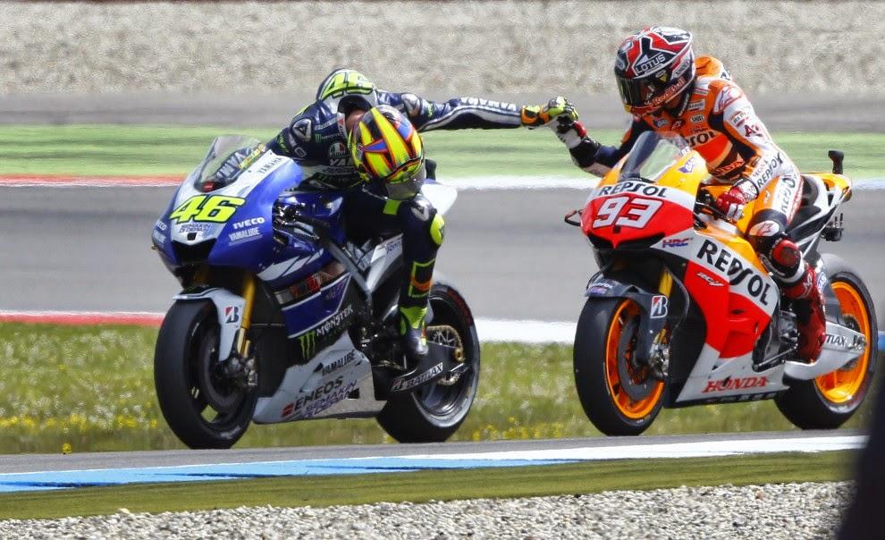 Spor Rossi – Marquez je zastrupil MotoGP!