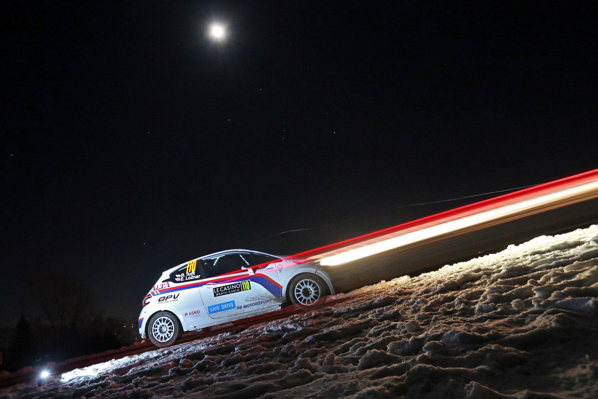 """Shakedown"" rallyja Monte-Carlo za ogrevanje pred štartom"