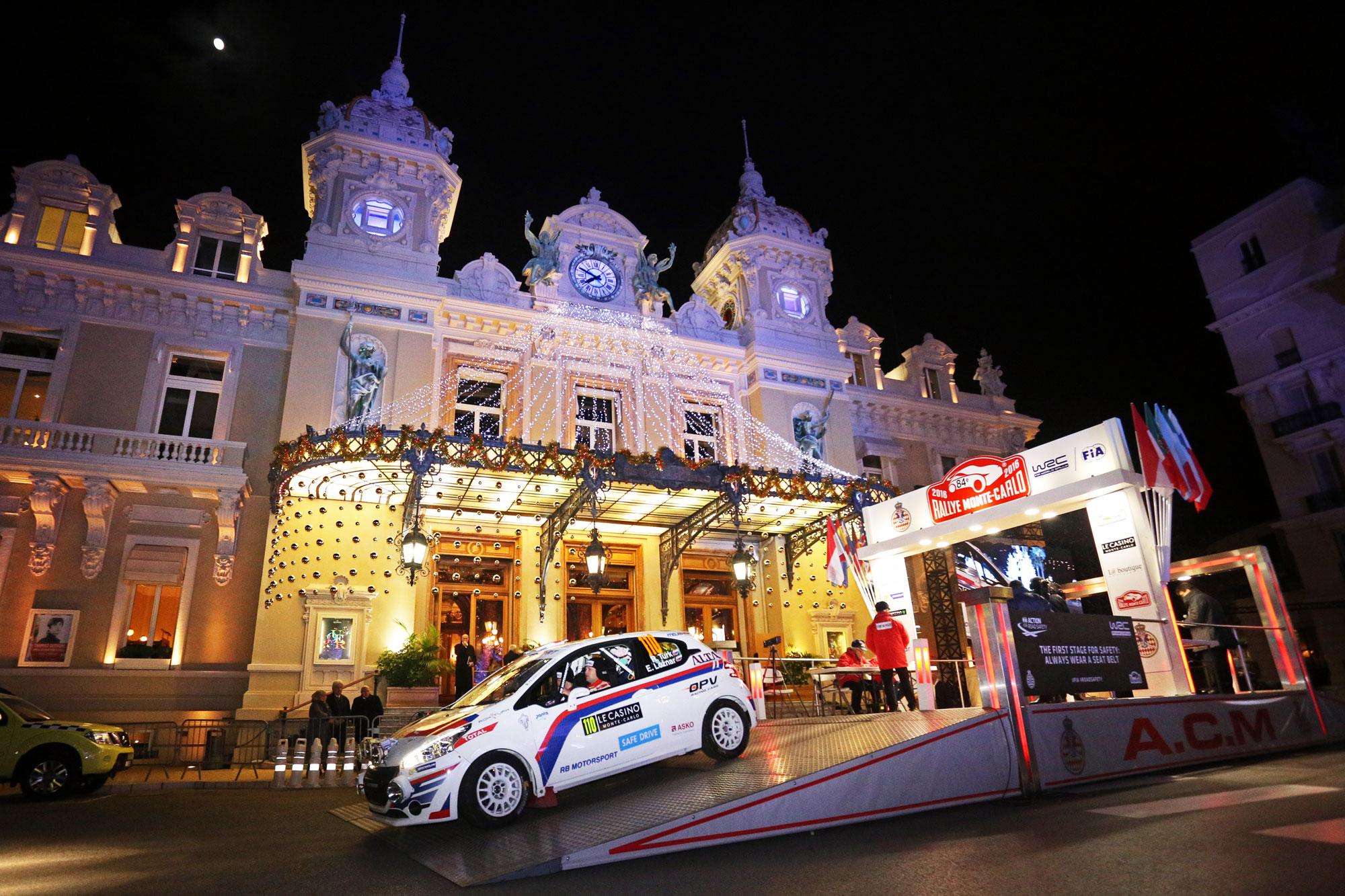 Dober začetek Turka na reliju Monte Carlo