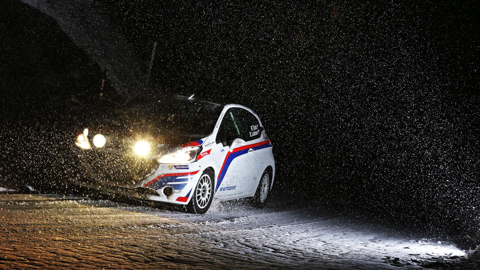Izziv svetovnega prvenstva za Roka Turka na rallyju Monte Carlo