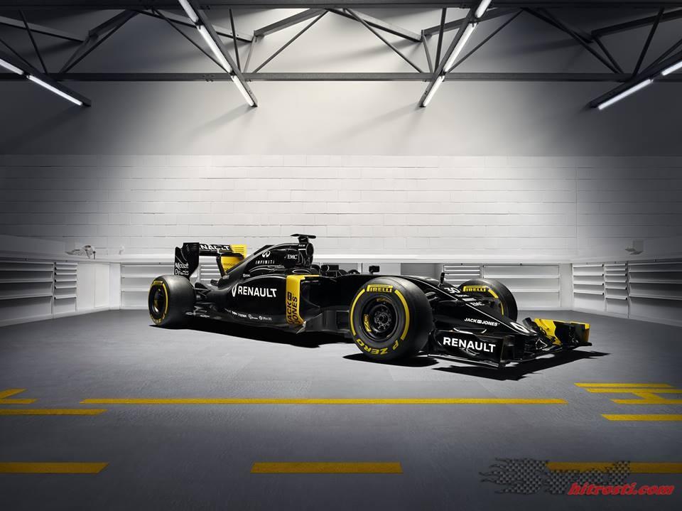 Renault prvi predstavil letošnji dirkalnik in svoje barve
