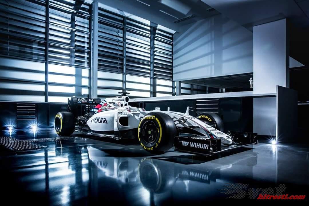 Williams je predstavil letošnji dirkalnik