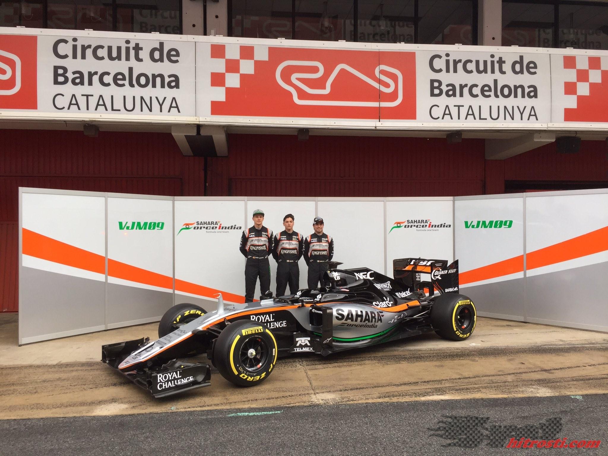 """Force India pokazala svoj """"zaklad"""""""