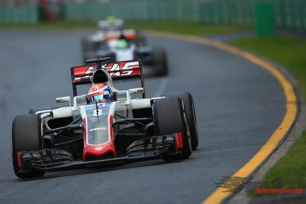 Romain Grosjean razglašen za dirkača dneva