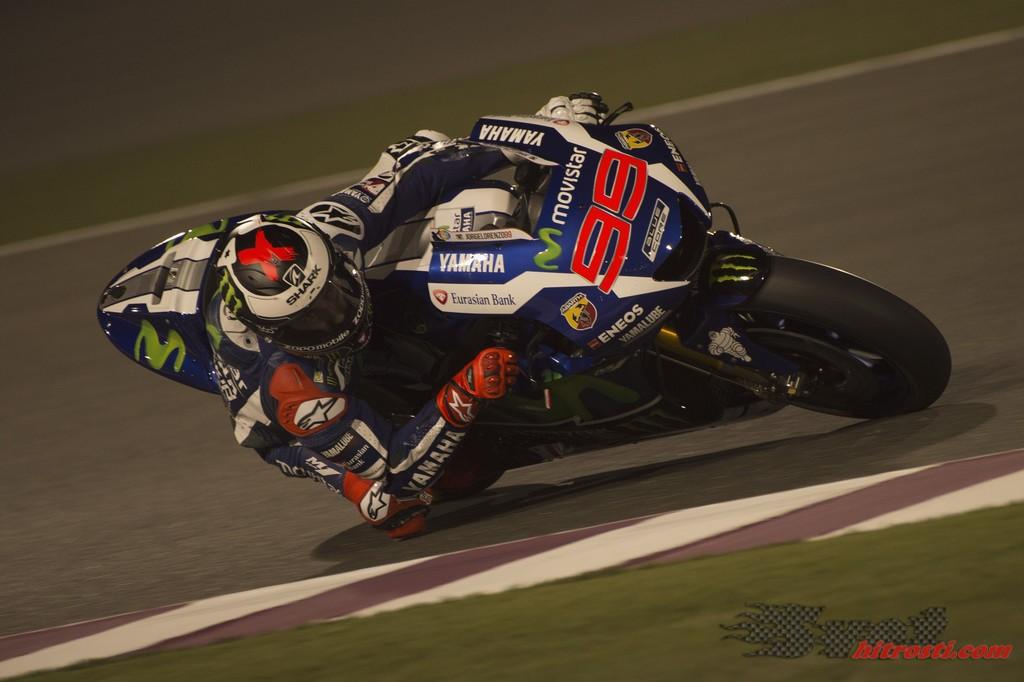 Rossi padel, Lorenzo najhitrejši