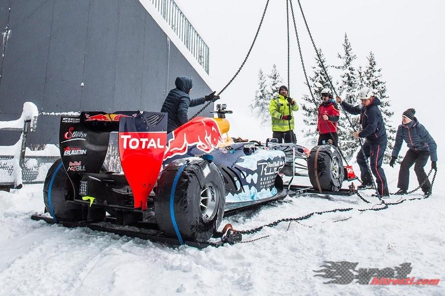 Red Bull z novo demonstracijsko vožnjo