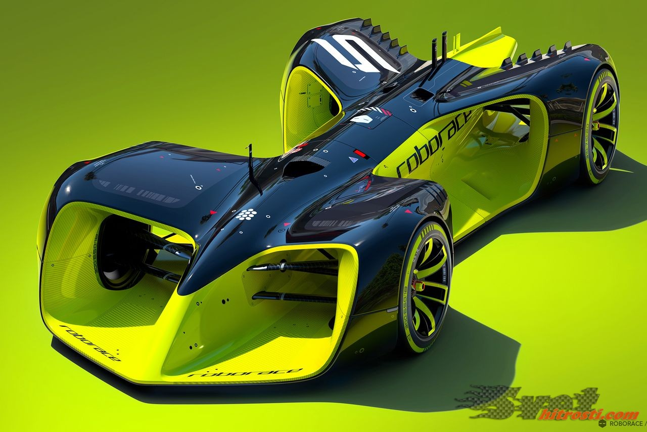 Roborace, dirkaška serija brez dirkačev
